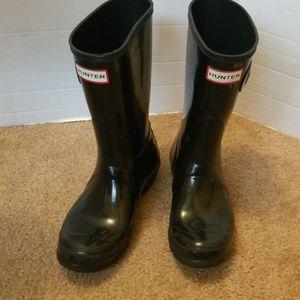 Hunter Org Short Gloss rain boots